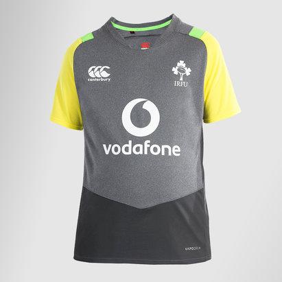 Canterbury Ireland IRFU 2017/18 Kids Superlight Poly Rugby Training T-Shirt