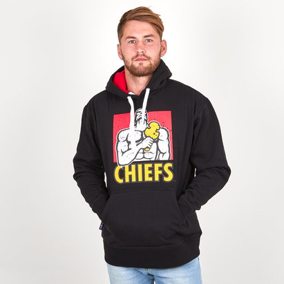 Brandco Chiefs 2019 Graphic Super Rugby Hooded Sweat