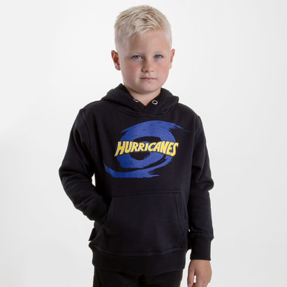 Brandco Hurricanes 2019 Kids Graphic Super Rugby Hooded Sweat