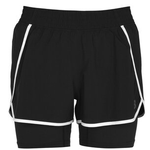 New Balance 2 in 1 Shorts Ladies