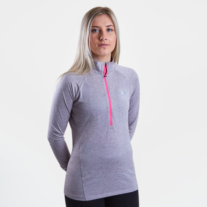 Under Armour Armour Tech Tracksuit Top Ladies