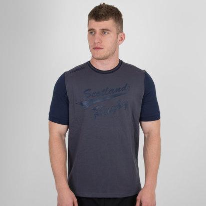 Macron Scotland 2017/18 Travel Leisure Rugby T-Shirt
