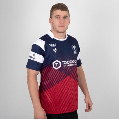 B Sport Bristol Bears 2018/19 Home S/S Replica Rugby Shirt