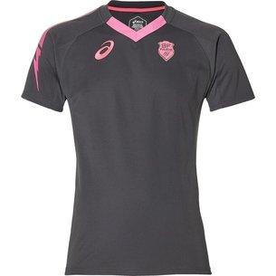 Asics Stade Francais Training Shirt Mens