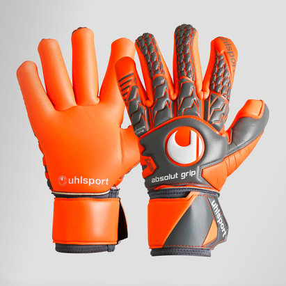 Uhlsport AeroRed Absolute Grip Finger Surround Goalkeeper Gloves