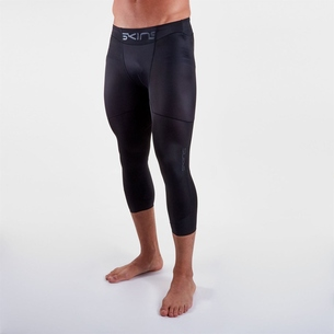 Skins DNAmic Three Quarter Base Layer Tights Mens