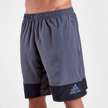 adidas 4K Tec X Long Woven 10 Training Shorts