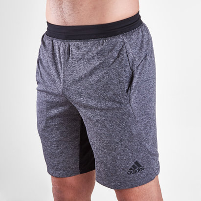 adidas 4K Tech Heather Training Shorts
