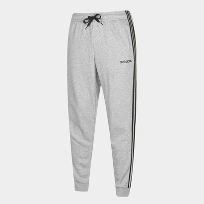 adidas 3 Stripe Jogging Bottoms Mens