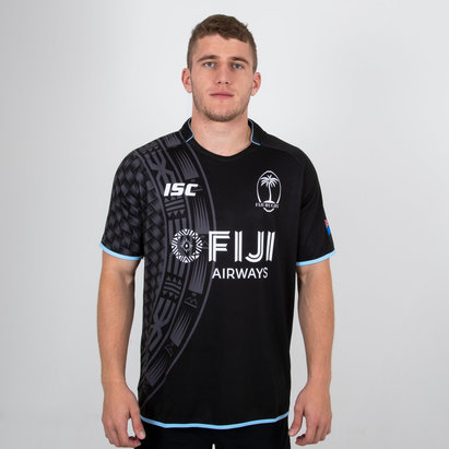 ISC Fiji Alternate Rugby Shirt 2018 2019 Mens