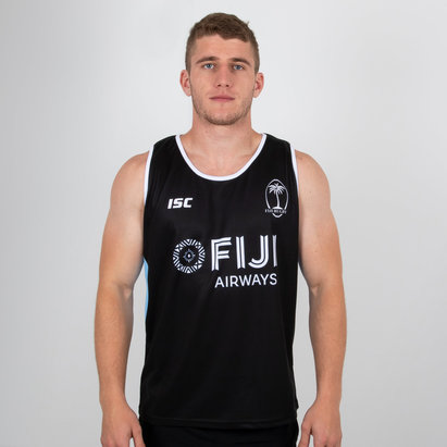 ISC Fiji Rugby Training Singlet Mens