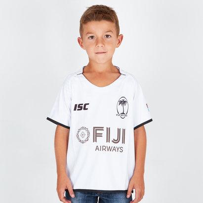 ISC Fiji 2018/19 Kids Home S/S Replica Rugby Shirt