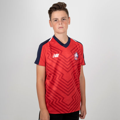 New Balance Lille Home Shirt Junior Boys