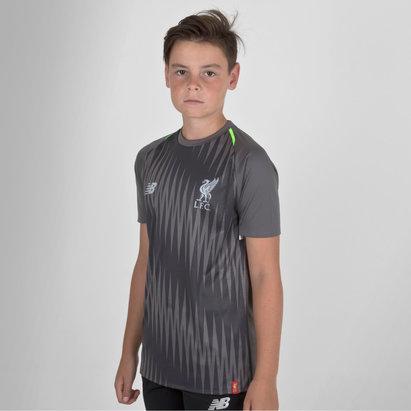 New Balance Liverpool FC 18/19 Elite Kids Matchday Football Training Shirt