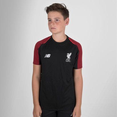 New Balance Liverpool FC 18/19 Elite Kids Football Training Shirt