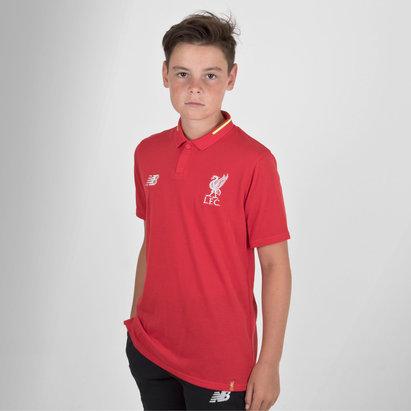 Liverpool FC 18/19 Kids Elite Leisure Football Polo Shirt