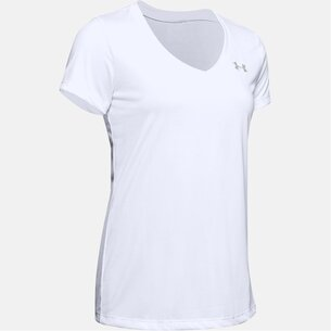 Under Armour Tech Solid T Shirt Ladies