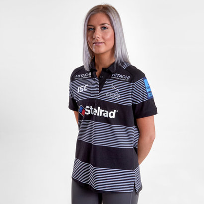 ISC Newcastle Falcons Ladies 18 19 Home Rugby Jersey