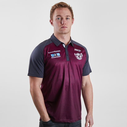 ISC Manly Sea Eagles 2019 NRL Players Rugby Polo Shirt