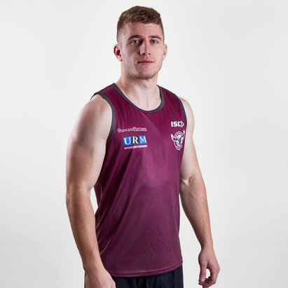 ISC Manly Sea Eagles 2019 NRL Players Rugby Training Singlet