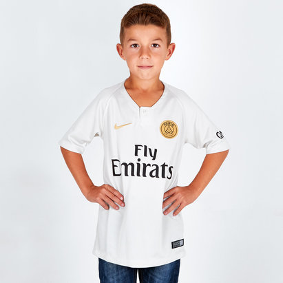 Nike Paris Saint-Germain 18/19 Away Kids S/S Replica Football Shirt