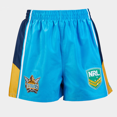 ISC Gold Coast Titans NRL Kids Alternate Supporters Rugby Shorts
