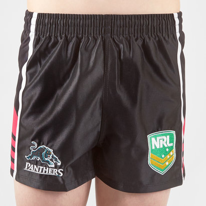 ISC Penrith Panthers NRL Kids Alternate Supporters Rugby Shorts