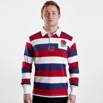 VX-3 England 2019/20 Vintage Stripe Rugby Shirt