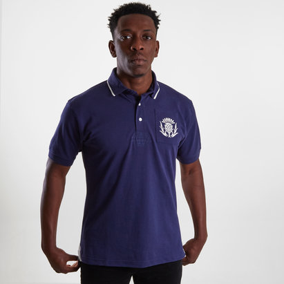 VX-3 Scotland 2019/20 Vintage Rugby Polo Shirt
