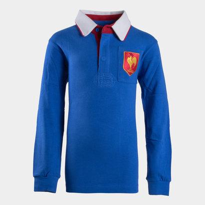 VX-3 France 2019/20 Kids Vintage Rugby Shirt