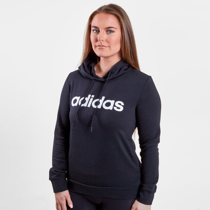 adidas Linear Logo Ladies Hooded Sweat