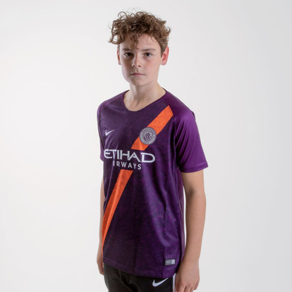 Nike Manchester City 18/19 Kids 3rd S/S Replica Football Shirt