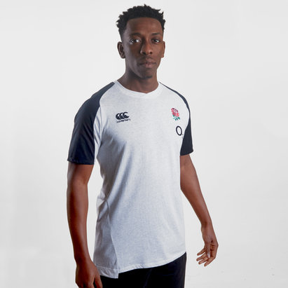 Canterbury England 2019/20 Cotton Rugby T-Shirt