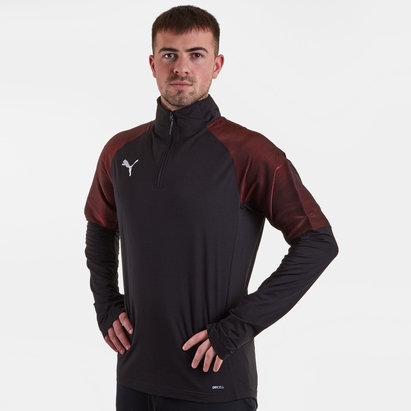 Puma FtblNXT 1/4 Zip Football Training Top