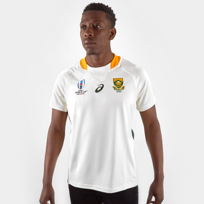 Asics South Africa Springboks RWC 2019 Alternate S/S Replica Rugby Shirt