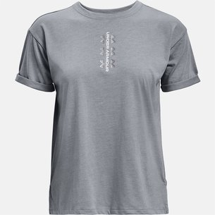 Under Armour Perforated Performance T Shirt Ladies