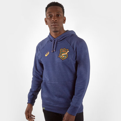 Asics South Africa Springboks 2019/20 Off Field Hooded Rugby Sweat