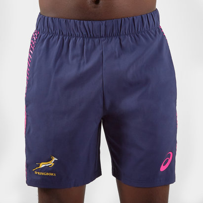 Asics South Africa Springboks 2019/20 Players Rugby Training Shorts