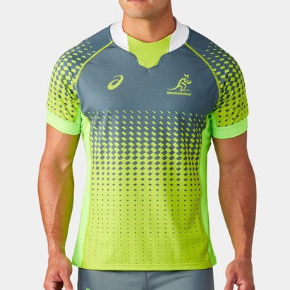 Asics Australia Wallabies 2019/20 Players S/S Match Day Training Shirt