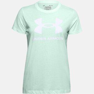 Under Armour Armour Classic Crew T Shirt Ladies
