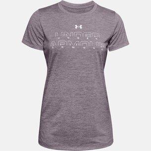Under Armour Tech Running T Shirt Ladies