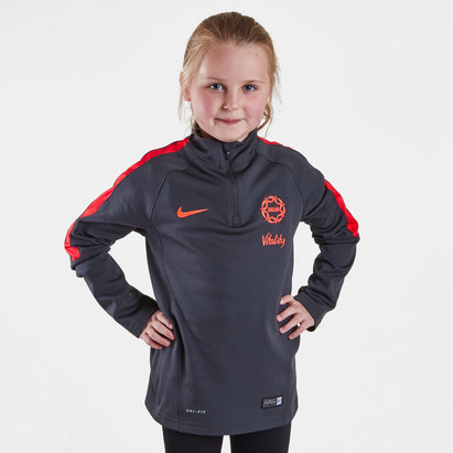 Nike England Netball  quarter  Zip Mid Layer