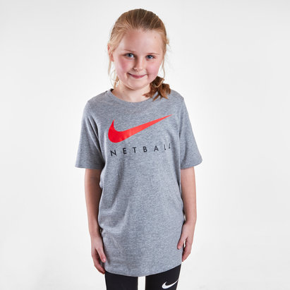 Nike England 2019 Kids Netball Graphic T-Shirt