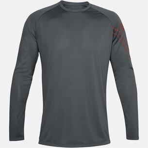 Under Armour Gradient Logo T Shirt Mens