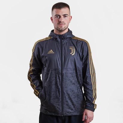 adidas Juventus 2019 Windbreaker Football Jacket