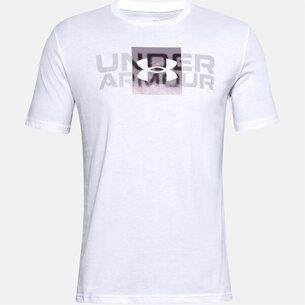 Under Armour Big Logo T Shirt Mens