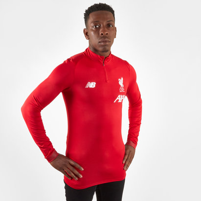 New Balance Liverpool FC 19/20 Players Mid Layer Football Top