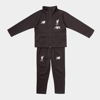 New Balance Liverpool 19/20 Kids Football Tracksuit