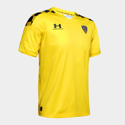 Under Armour Clermont Rugby 2019 20 Home Shirt Mens