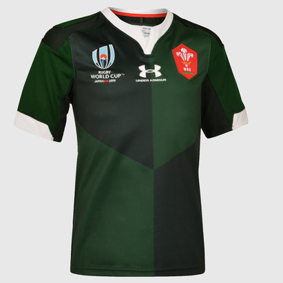 Wales RWC 2019 Alternate Shirt Junior
